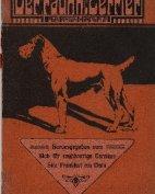 """Der rauhhaarige Terrier und seine Erziehung"""", 2.Auflage, ca.1905"""