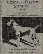 Deutsches Airedale-Terrier-Stammbuch, Band II, 1906