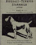 Deutsches Airedale-Terrier-Stammbuch, Band III, 1908