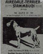 Deutsches Airedale-Terrier-Stammbuch, Band IV, 1909
