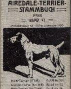 Deutsches Airedale-Terrier-Stammbuch, Band VI, 1911