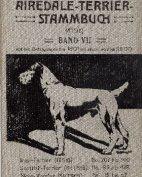 Deutsches Airedale-Terrier-Stammbuch, Band VII, 1912