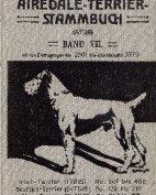 Deutsches Airedale-Terrier-Stammbuch, Band VIII, 1914