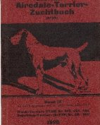 Deutsches Airedale-Terrier-Zuchtbuch, Band IX, 1920