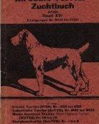 Deutsches Airedale-Terrier-Stammbuch, Band XVI, 1925