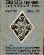 Deutsches Airedale-Terrier-Zuchtbuch, Band XVII, 1926