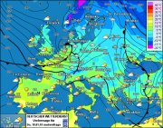 Großwetterlage Europa - morgen