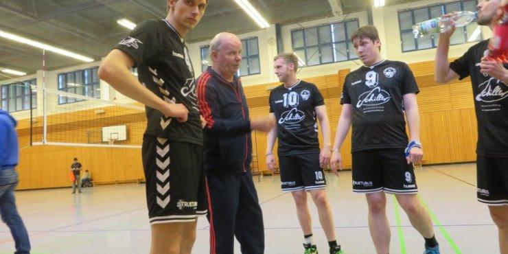 Männer Saisonfinale gegen die Haudegen der Turbine Leipzig