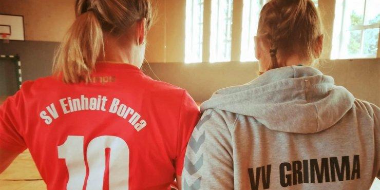 Bezirksliga, die Zweite - Trainingslager der Damen I in Werdau