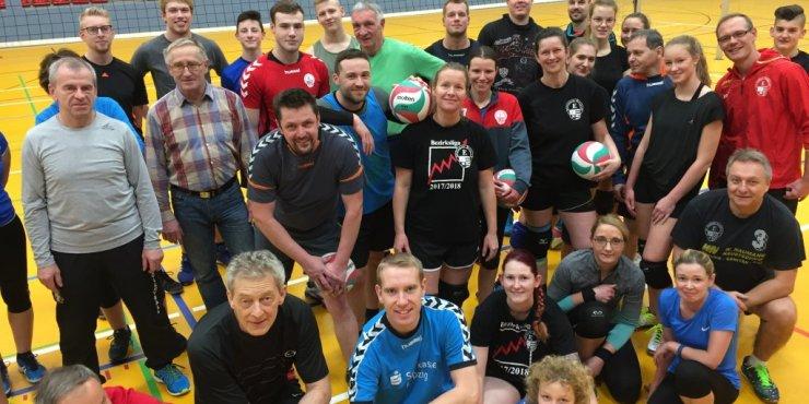 Erfolgreiches  Weihnachts-Mixed-Volleyballturnier