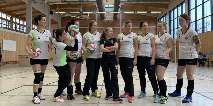 Sie haben Ihr Ziel erreicht - Pokalviertelfinalrunde gegen TSV Leipzig 76 III und L.E. Volleys III