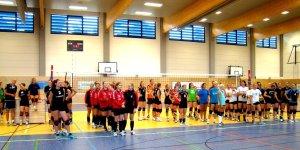 4. Platz 1. Glück-auf-Volleyballturnier