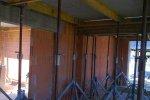 Deckenunterstützung in der Bauphase