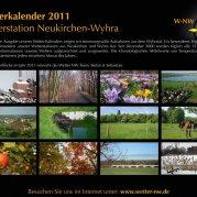 Wetterkalender 2011