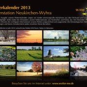 Wetterkalender 2013