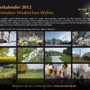 Wetterkalender 2012